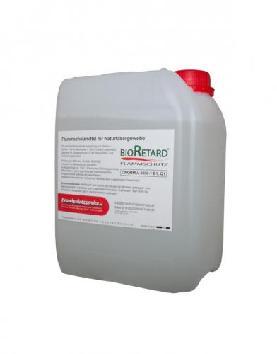 Flammschutzmittel - BioRetard 5 Liter für Papier, Pappe, Sto