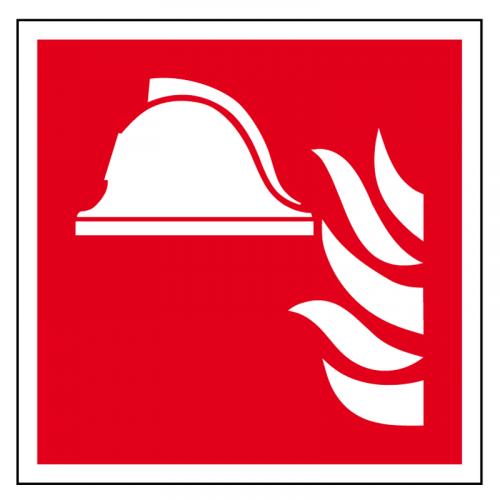 EverGlow Mittel und Geräte zur Brandbekämpfung ISO7010 20,0 x 20,0  cm