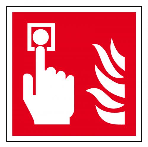EverGlow Brandmelder ISO7010 20,0 x 20,0  cm