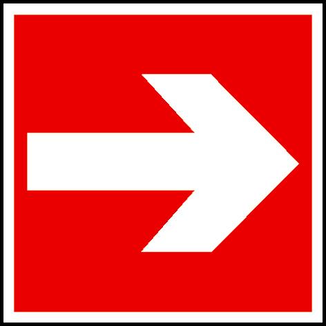 EverGlow Richtungsangabe links/rechts 20,0 x 20,0  cm