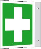 EverGlow Erste Hilfe Fahne 20,0 x 20,0  cm