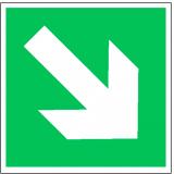 EverGlow Richtungsangabe aufwärts/abwärts ISO7010 20,0 x 20,0  cm