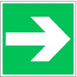 EverGlow Richtungsangabe links/rechts ISO7010 20,0 x 20,0  cm