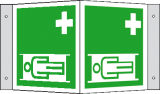 EverGlow Krankentrage Winkel 20,0 x 20,0  cm