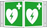 EverGlow Defibrillator (AED) Winkel 20,0 x 20,0  cm