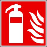 EverGlow Feuerlöscher ISO7010 - 20,0 x 20,0  cm