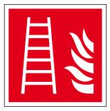 EverGlow Leiter ISO7010 20,0 x 20,0  cm