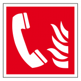 EverGlow Brandmeldetelefon ISO7010 20,0 x 20,0  cm