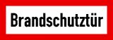 EverGlow Brandschutztür 29,7 x 10,5 cm