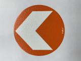 Bodenmarkierung/Ronde orange - 12,5 cm