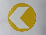Bodenmarkierung/Ronde gelb - 12,5 cm